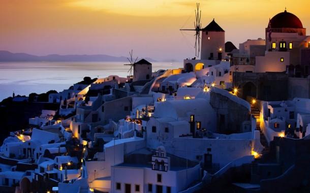 Mysterious Island of Santorini